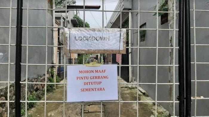 Ada Warganya yang Terpapar Covid-19, Perumahan Kementerian Agama Bojonggede Tutup Jalan Gang