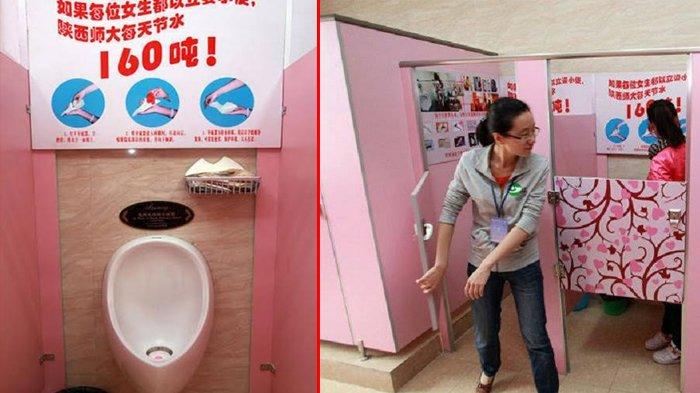 Mahasiswi di Kampus Ini Harus Pipis Berdiri, Gunakan Alat Ini Saat di Toilet