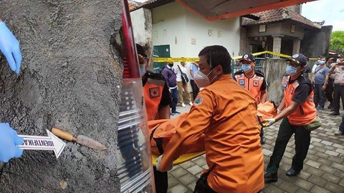 Pisau yang diduga digunakan pelaku pembunuhan pegawai Bank di Denpasar diamankan kepolisian. Polisi sebut semua barang bukti dan keterangan saksi kini didalami oleh penyidik untuk mengungkap dan menangkap pelaku pembunuhan NPW pada Senin (28/12/2020).
