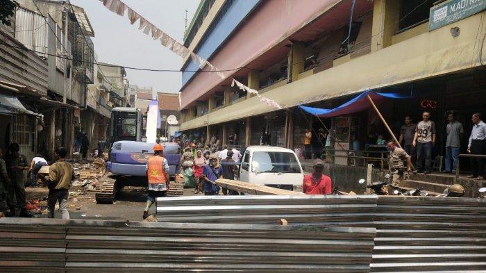 Penertiban di Jalan Bata Bogor, PKL dan Parkiran Samping Pasar Bogor Direlokasi
