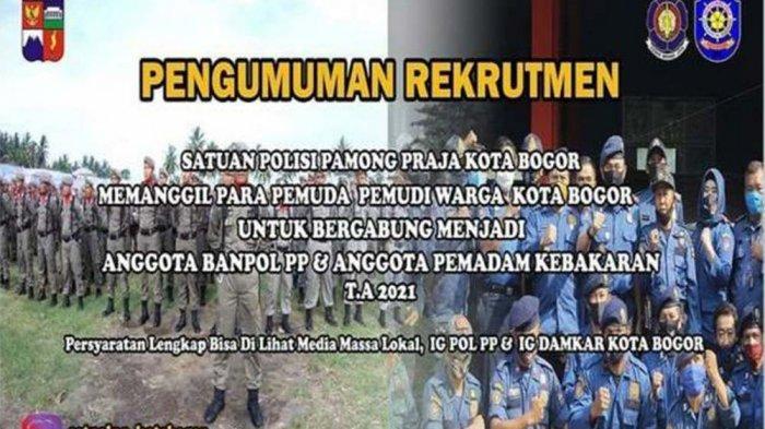 Dibutuhkan Hanya 57 Personel, Pendaftar PKWT Satpol PP dan Damkar Kota Bogor 3.593 Orang