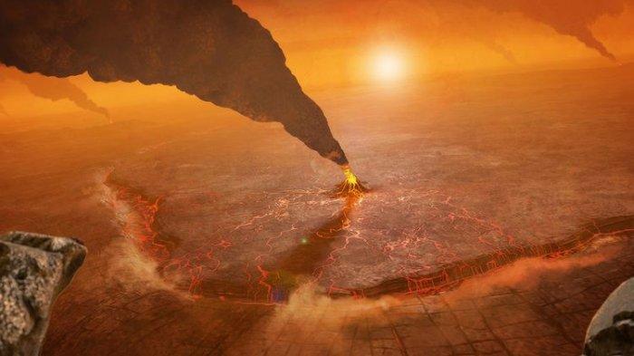Studi Baru, Peneliti Temukan 37 Gunung Berapi Aktif di Planet Venus