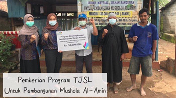 PLN unit Induk Distribusi Jawa Barat melakukan sejumlah kegiatan sosial.