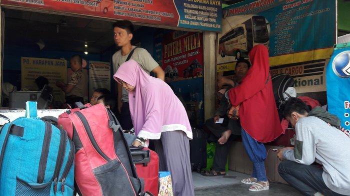 Tiket Pesawat Mahal, Pemudik dari Bogor Lebih Pilih Bus ke Solo