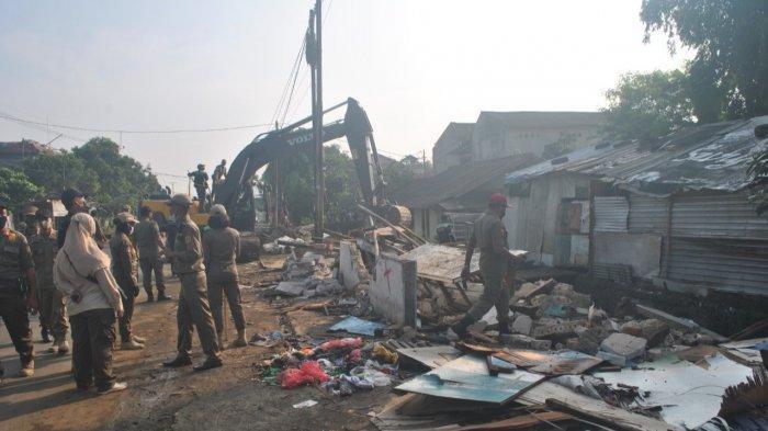 153 Bangunan Liar di Kemang Bogor yang Dibongkar Satpol PP, Bakal Disulap Jadi Trotoar