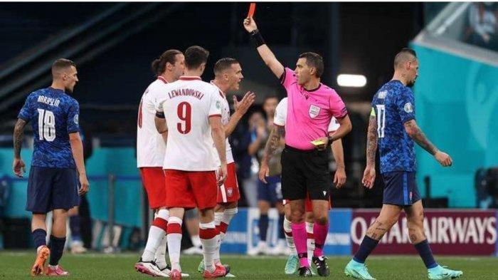 HASIL Euro 2020: Lewandowski Mandul Gol, Polandia Dipermalukan Slovakia, Spanyol Imbang Lawan Swedia