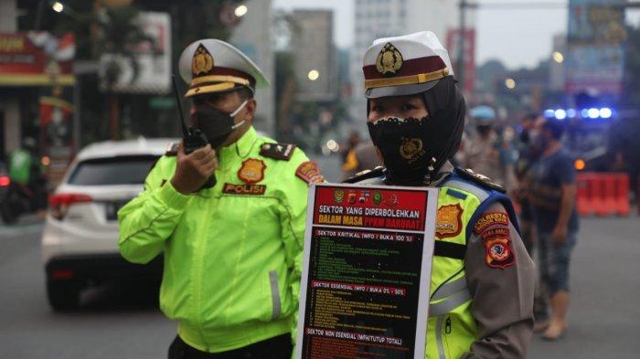 Mulai Besok, Ruas Jalan Menuju Kota Bogor Disekat, Jalur Tol BORR di Tutup