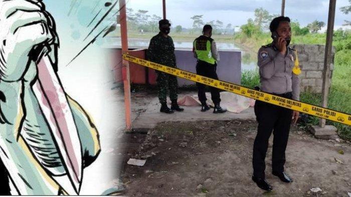 Ilustrasi dan Polisi di TKP Mayat cewek Purel ditemukan tewas dalam kondisi tanpa busana ditemukan di semak-semak pinggir jalan Raya Pepen Pakisaji, Kabupaten Malang pada Selasa (23/3/2021).