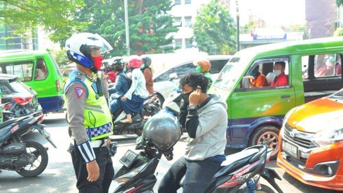 Tak Hanya Periksa Surat Kendaraan, Polisi di Bogor Cek Kelengkapan Protokol Kesehatan Covid-19
