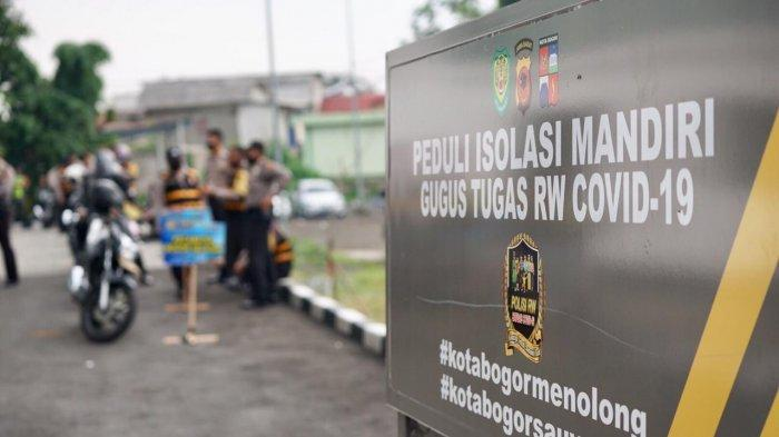 Polresta Bogor Kota Launching Polisi Peduli Isolasi Mandiri, Sebar 1.200 Bantuan