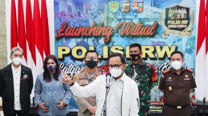 Tekan Lonjakan Covid-19, Polresta Bogor Kota Launching Polisi RW