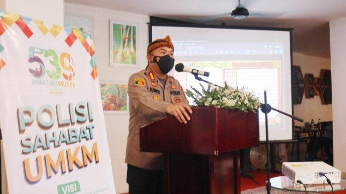 Kapolresta Bogor Kota, Kombes Pol Susatyo Purnomo Condro melaunching Polisi Sahabat UMKM.