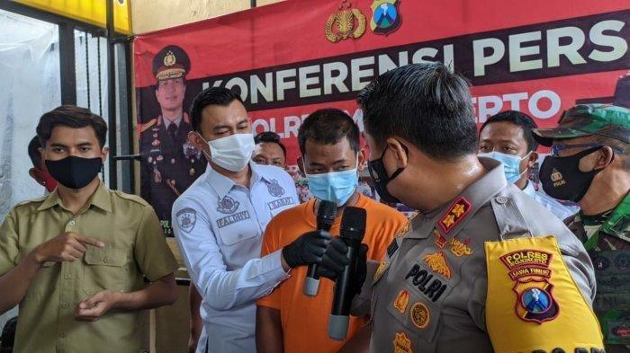 Polisi ungkap kasus penemuan jenazah di Mojokerto.