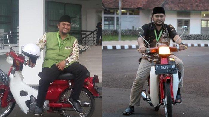 Gaya Anggota DPRD Kota Bogor Ngantor Pakai Motor Klasik : Saya Tak Mau Memunculkan Kesan Mewah