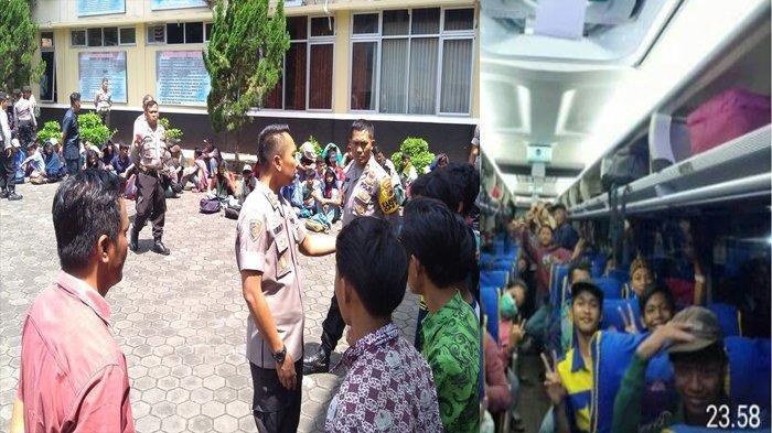 Puluhan Pelajar SMK yang Tertangkap Polisi di Banyumas Hari Ini Dipulangkan ke Bogor