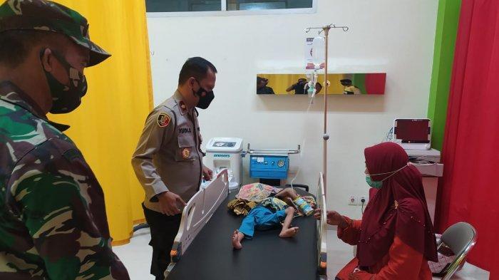 Bocah di Sukajaya Bogor Derita Gizi Buruk, Polisi Turun Tangan Beri Bantuan