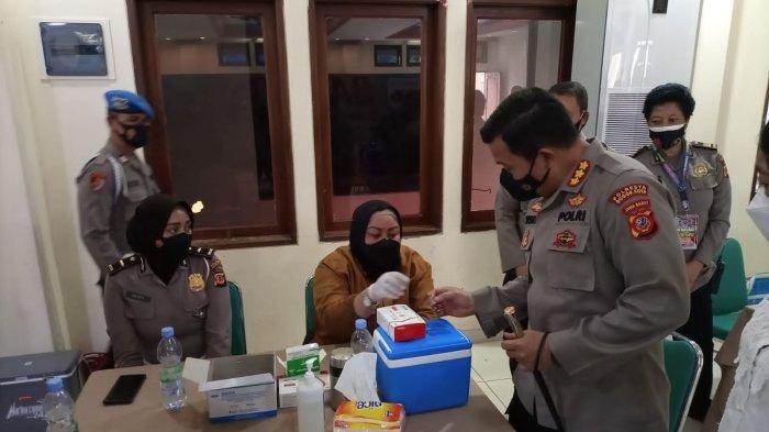 Polresta Bogor Kota Gelar Vaksinasi di Rumah Ibadah, Targetkan 600 Dosis di Gereja Zebaoth
