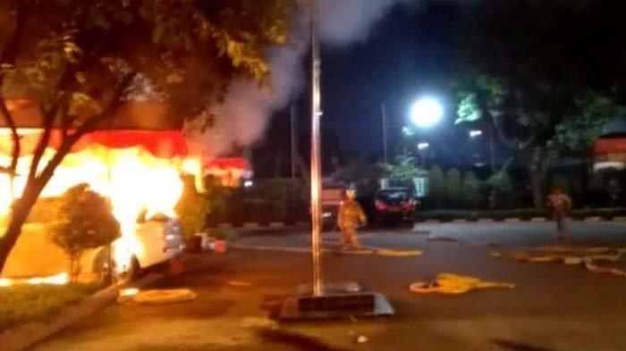 Polsek Ciracas Diserang hingga Ada Mobil Dibakar, Polisi Duga Pelakunya Kurang Lebih 100 Orang