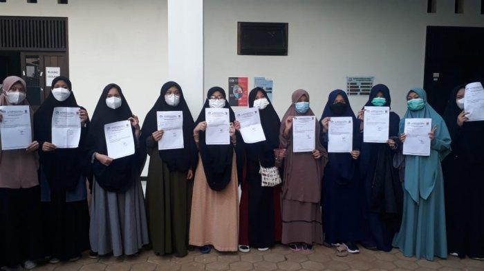 Update kasus Covid-19 di Pondok Pesantren (Ponpes) Bina Madani Kota Bogor.