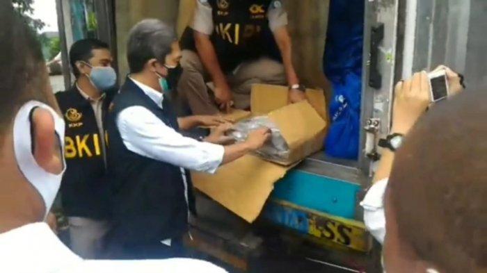 Posko Logistik Satgas Covid-19 Kota Bogor Terima Bantuan 5 Ton Ikan Beku dari KIPM