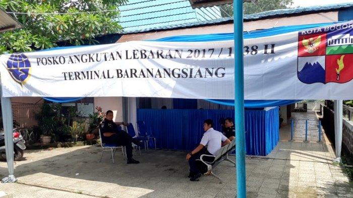 Dishub Kota Bogor Sediakan Posko di Terminal Baranangsiang, Pemudik Bisa Tidur