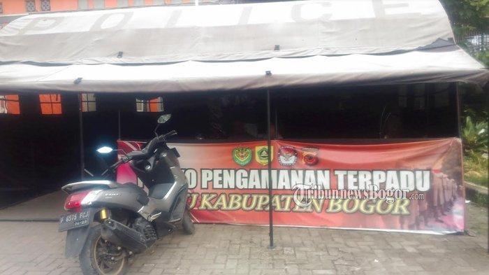 Polres Bogor Tetap Lakukan Penjagaan di Kantor KPUD Kabupaten Bogor