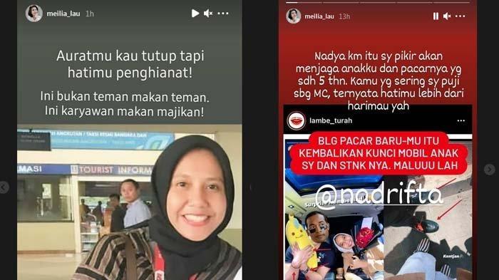 postingan ibunda Felicia tuding Nadya rebut Kaesang Pangarep