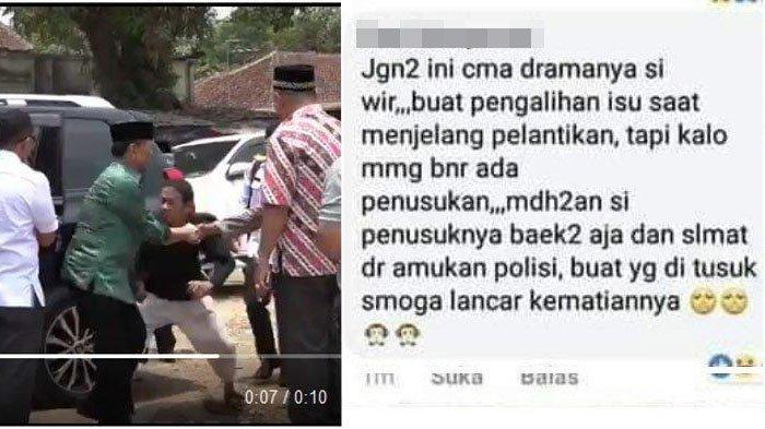 Ini Postingan Kasar Istri Anggota TNI AU soal Wiranto, Diperiksa Sampai Pagi Begini Nasib Suaminya
