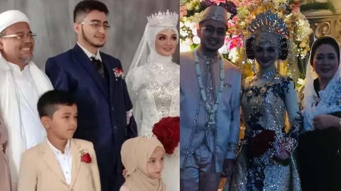 Potret Resepsi Najwa Shihab Putri Habib Rizieq, Neno Warisman dan Mantan Istri Prabowo Tulis Doa Ini
