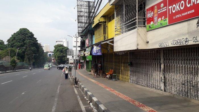 PPKM Darurat Hari Ke-9: Kota Bogor Lengang, Toko Tutup