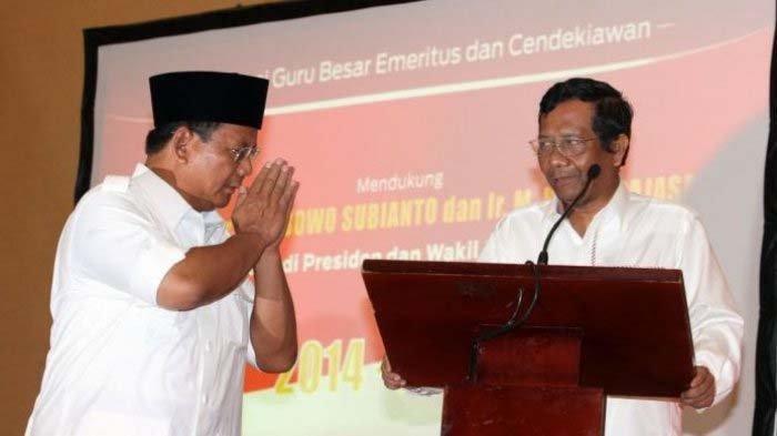 Mahfud MD Terkejut Lihat Respon Prabowo saat Diajak Diskusi : Kalau Ada Kesalahan Saya Marahi