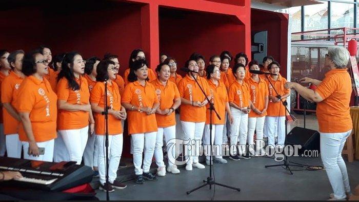 Keseruan Pra-Event Bogor Street Festival CGM 2020 di Mal BTM, Ada Paduan Suara hingga Bazar