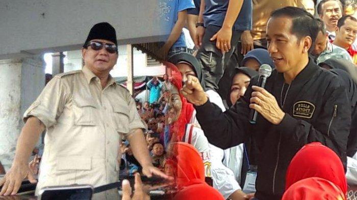 Hasil Survei, Pasangan Jokowi - Maruf Amin Unggul Tipis Atas Prabowo - Sandi di Banten