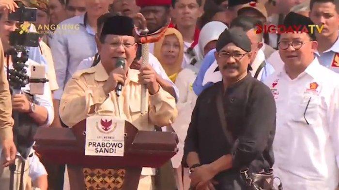 Kampanye di Solo, Prabowo Sebut Jokowi Baik : Siapa yang Beri Nasihat Kepada Bapak, Keliru Semua Itu