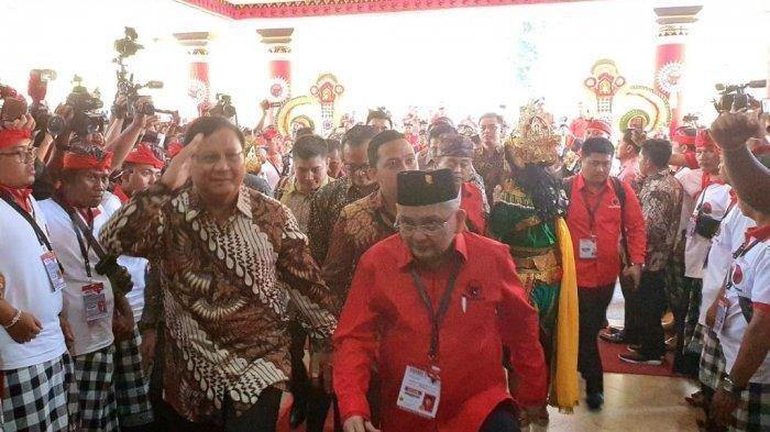 Prabowo Hadir di Kongres PDIP di Bali, Fadli Zon Bocorkan Sikap Politik Partai Gerindra