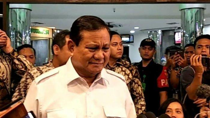 Prabowo ke Wartawan: Sekarang Kita Friend ya