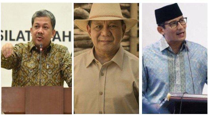 Fahri Hamzah Tanggapi Video Prabowo Joget dan Dipijit Sandiaga Uno : Cocok, Bukan Pencitraan