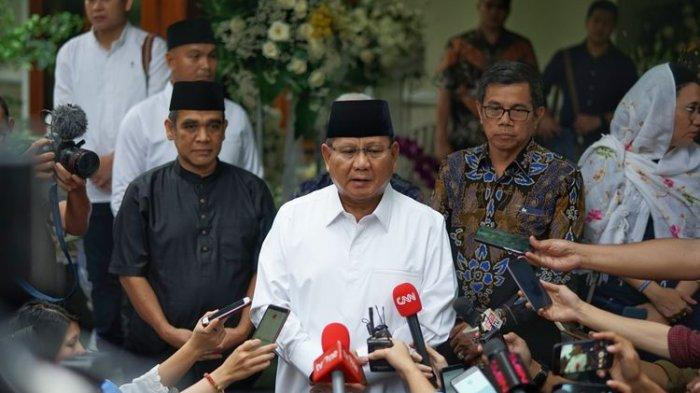 Jawaban Prabowo soal Pertemuan dengan Jokowi : Semua Ada Waktunya
