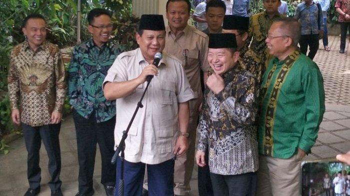 Usai Bertemu Suharso Monoarfa, Prabowo Sebut PPP dan Gerindra Punya Banyak Kesamaan
