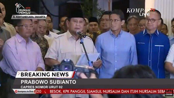 Prabowo Subianto dan Lima Sekjen Partai Politik Bahas Pembubaran Koalisi