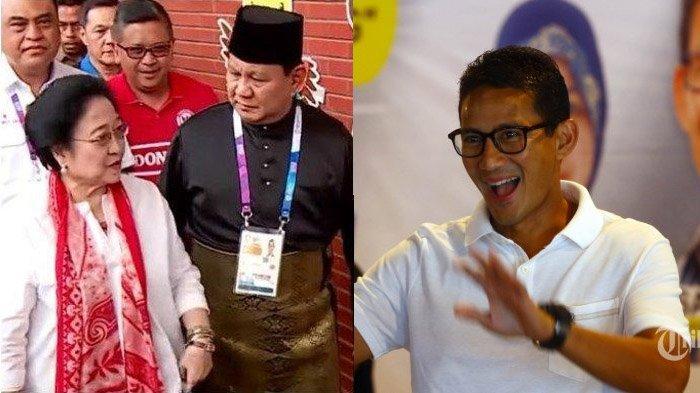 Tanggapi Pertemuan Prabowo dan Megawati, Sandiaga Uno: Mereka Kan Berpasangan, Jadi Nostalgia