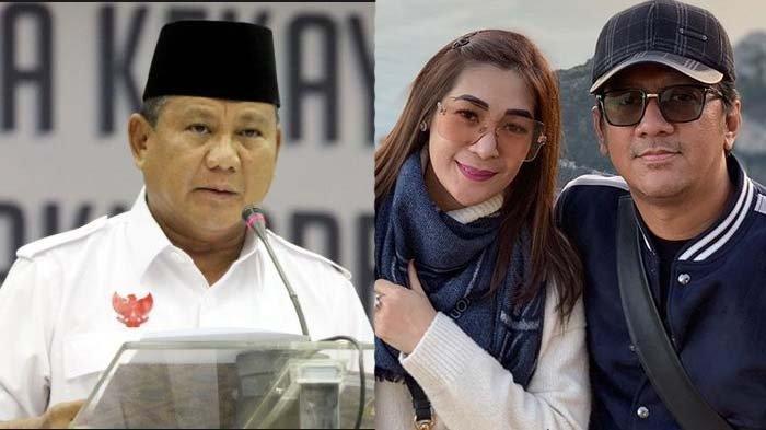 Istri Komentari Sikap Prabowo di Pilpres 2019 , Andre Taulany : Mohon Dimaafkan Segala Khilaf