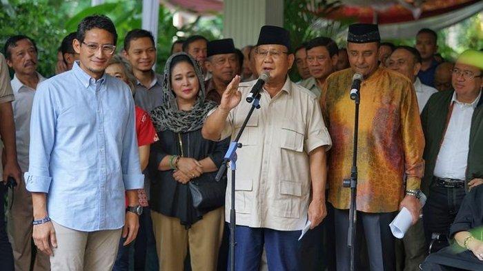 Gelar Rapat Bersama Parpol Koalisi Adil Makmur, Prabowo Tiba di Kertanegara