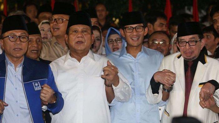 Pengundian Nomor Urut Capres-Cawapres - Gerindra Diuntungkan Bila Jokowi-Ma'ruf Amin Dapat Nomor 2