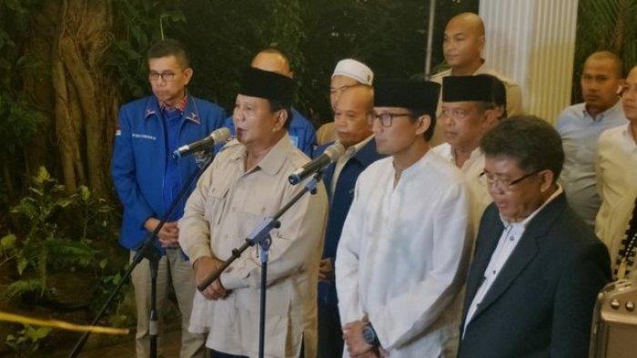 Hasil Quick Count Sementara BPN Kabupaten Bogor : Prabowo-Sandi 71 Persen, Jokowi-Ma'ruf 29 Persen