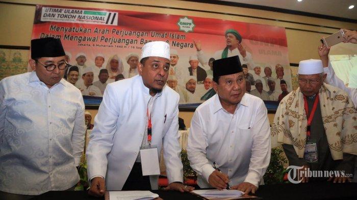 Fadli Zon : Prabowo-Sandiaga Uno Capres dan Cawapres yang Dipilih Ulama