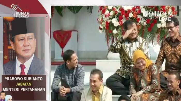 Diperkenalkan Jokowi Sebagai Menteri, Prabowo Beri Hormat, Presiden: Beliau Lebih Tahu Daripada Saya