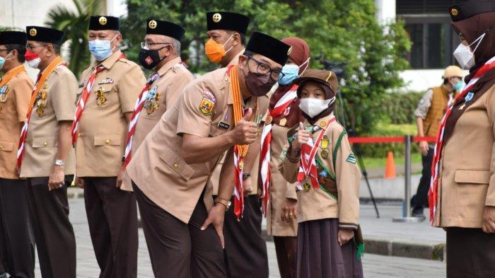 Hebat !  15 Anggota Pramuka Kota Bogor Sabet Penghargaan Lencana Teladan dari Kwarnas