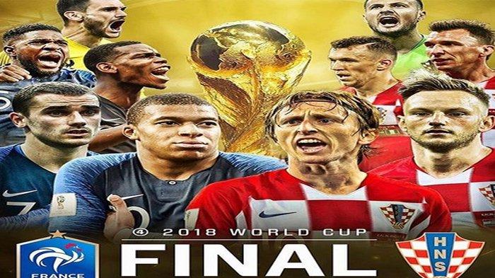 Dikalahkan 20 Tahun Lalu di Semifinal, Kroasia Tantang Lawan Lama Prancis di Final Piala Dunia 2018