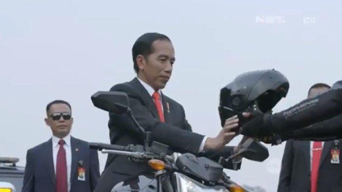 Jokowi Jadi Idola Anak Muda Korea Selatan Pasca Aksinya Naik Moge, Bahkan Disebut Mirip Penyanyi Ini